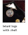 Inlaid logo