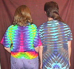 Tie-Dyed back pic
