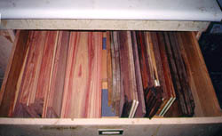 Rosewood drawer pic