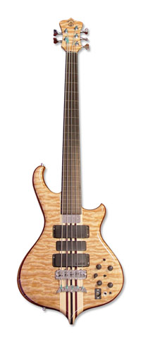 Series I Long Scale Custom in Quilted Maple