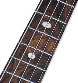 Coco Bolo fingerboard