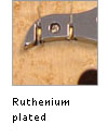 Ruthenium plated