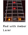 Red with Amber Laser LEDs