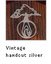 Handcut silver