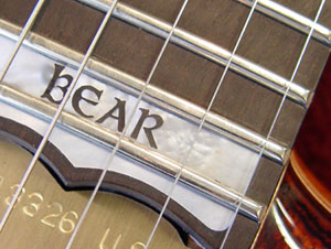 Bear inlay