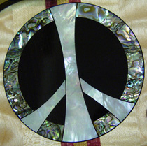 Peace inlay