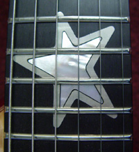 Fingerboard inlay
