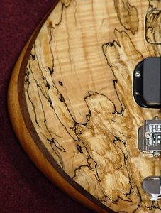 Spalted Maple 'Shadow Flame' top