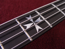 Maltese cross inlay