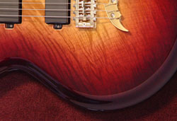 Flame Maple Wineburst
