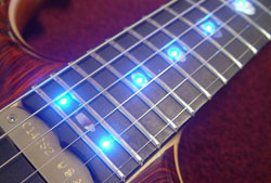 Laser LEDs in Blue