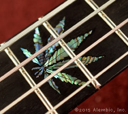 Leaf inlay