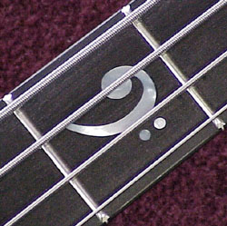 3rd fret inlay