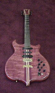 Plum Pudding Guitar