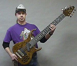 Steve and 8-string