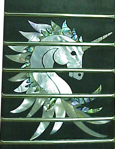 Unicorn inlay