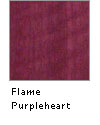 Flame Purpleheart
