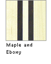 Maple and Ebony